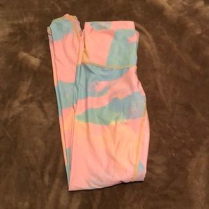 Teeki Tie Dye Acid Wash yoga legging